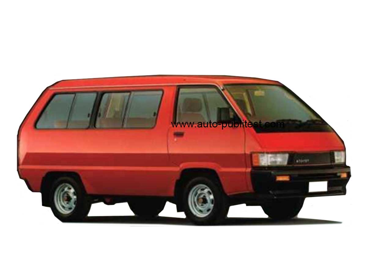 Toyota Model F Spacecruiser 1985 Careos