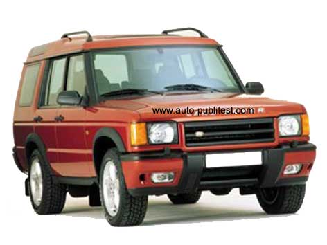 Land Rover Discovery 300. Land-Rover Discovery 1989