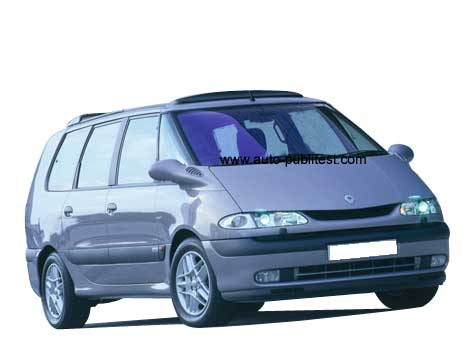 renault espace iii 1996 careos. Black Bedroom Furniture Sets. Home Design Ideas