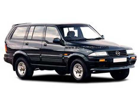 Ssangyong Musso 1994 Careos