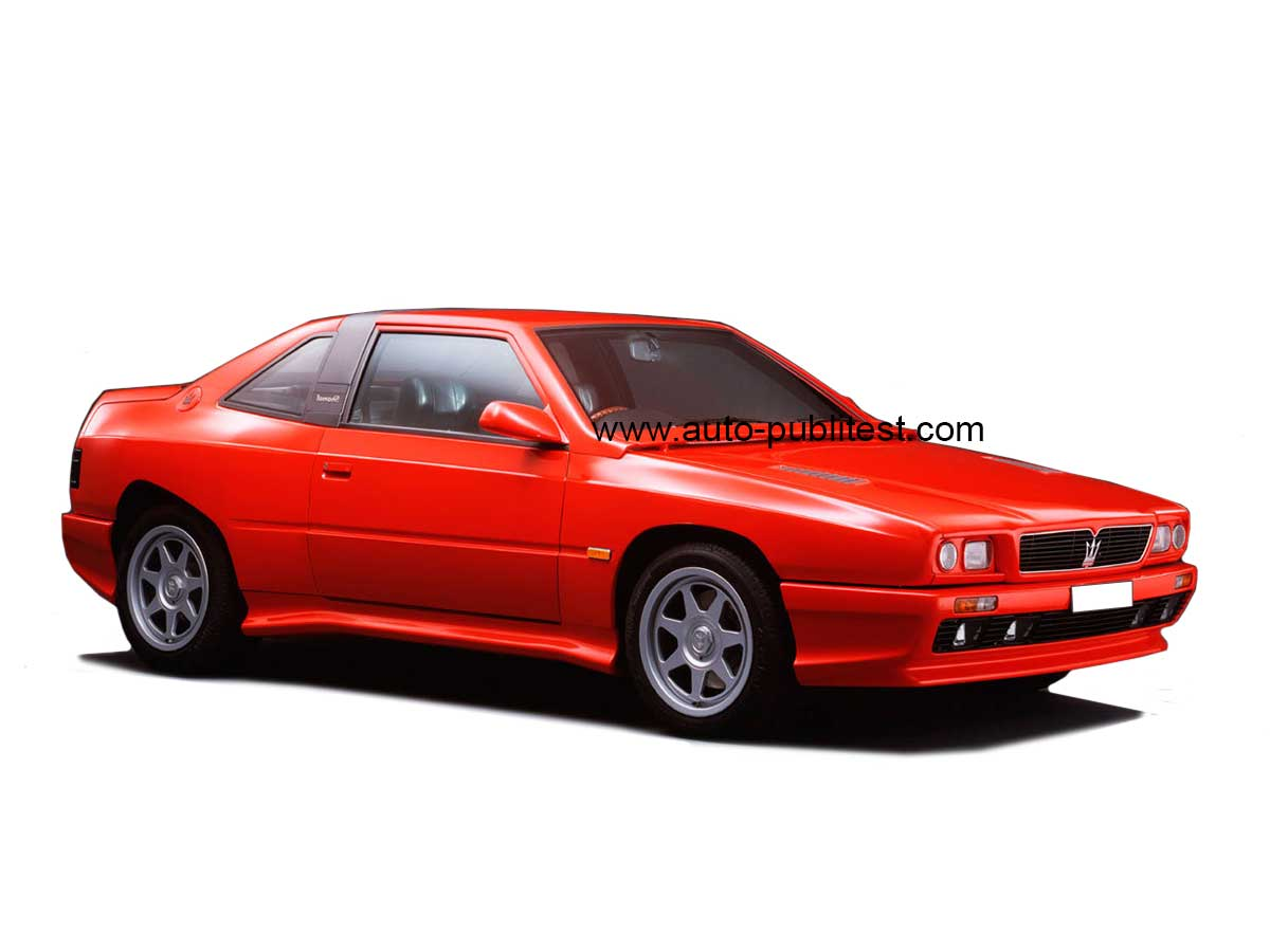 1990 MASERATi Shamal - Sport car technical specifications and ...